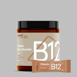 Puori B12 – Berry Booster s vitamínom B12 – 10 týždňové balenie