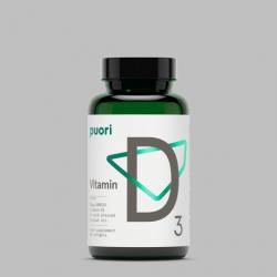 D3 – prírodný vitamín D vo vegánskej kapsule(400IU)