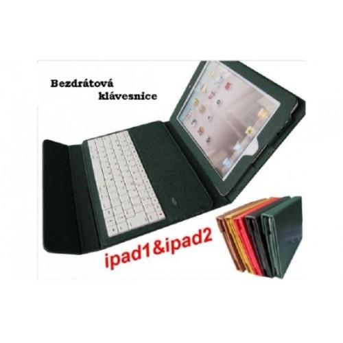 iPad kožené púzdro s bluetooth klávesnicou