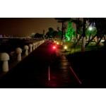 Zadné svetlo na bicykel s laserom - TAIL-A