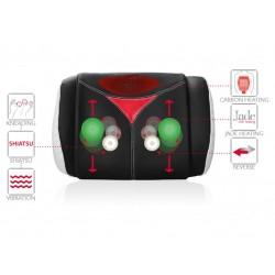 Rolovací masážny vankúš BeautyShiatsu s Nefrit Infra Magnetmi