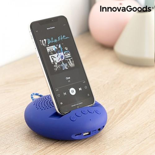 Bezdrôtový reproduktor s držiakom pre mobil či tablet Sonodock