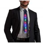 Blikajúca party kravata