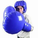 Boxovací nafukovací bláznivý set