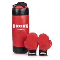 Boxovací vak s rukavicami