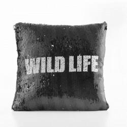 Čarovný vankúš s flitrami Wild Life