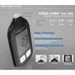 Laktátomer s meraním hemoglobínu CERA-CHECK 3v1 GHL