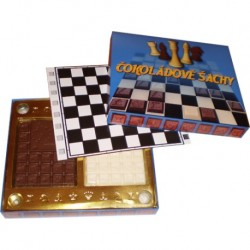Čokoládové šachy 125g