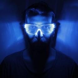 Svietiace okuliare Cyber Vizor