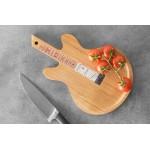 Bambusová doska na krájanie 34 cm gitara