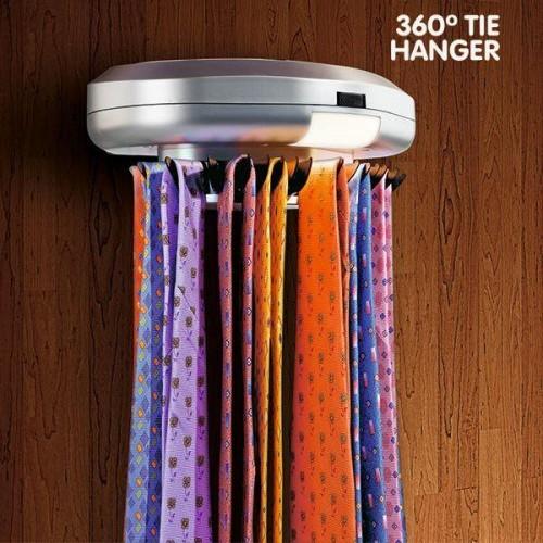 Elektronický vešiak na kravaty