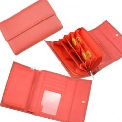 Euro peňaženka Red Long Classic