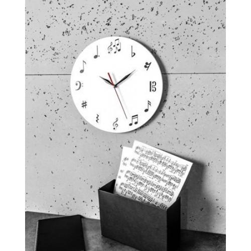 Hudobné nástenné hodiny