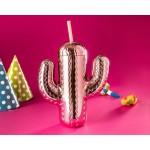 Pohár Kaktus so slamkou