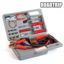 Náradie a štartovacie káble do auta