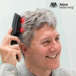 Laserový masážny hrebeň na urýchlenie rastu vlasov
