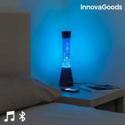 Lávová lampa s bluetooth reproduktorom