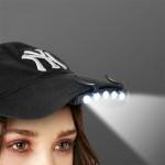 LED baterka na šiltovku