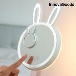 Dotykové LED zrkadlo na líčenie 2 v 1