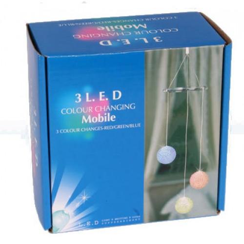 LED mobile BALL Svietiaca lampička