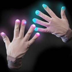 Led svietiace rukavice