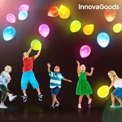 Svietiace farebné party balóny