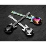 Sada lyžičiek v tvare gitár