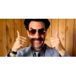 Borat plavky - MANKINI Boratovky