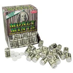 Mentolky v 100 dolárovom balení