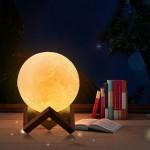 Stolná lampa Mesiac