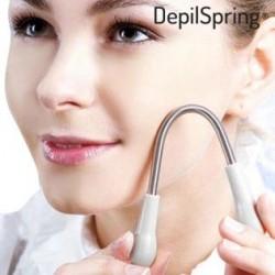 Odstraňovač chĺpkov na tvári - Depilačná pružina Depil Spring