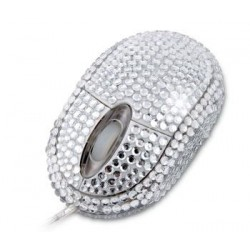 Diamantová optická usb myš