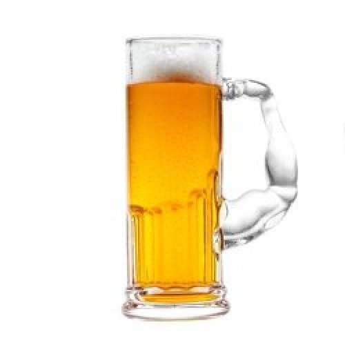 Pivový pohár pre silných mužov
