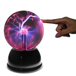 Elektrizujúca Plazma guľa, výška 30 cm