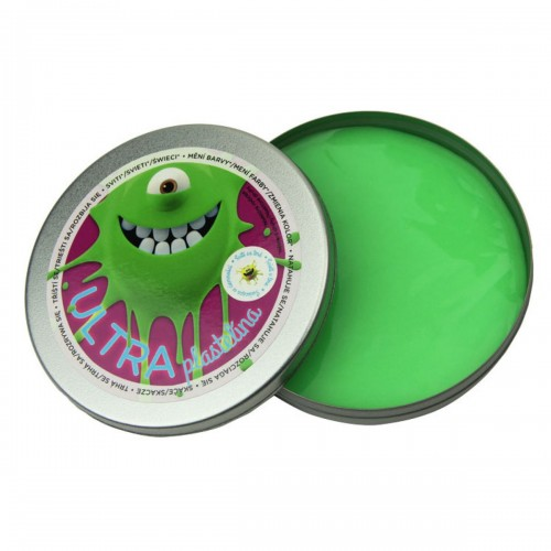 Plastelína svietiaca zelená 80 g