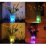 Podvodná farebná LED lampa