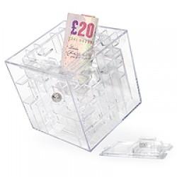 Pokladnička na peniaze Labyrint