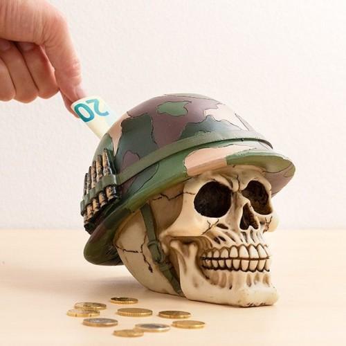 Pokladnička Lebka vojaka