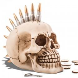 Pokladnička Punková Lebka