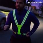 Reflexný LED popruh pre bežcov a cyklistov