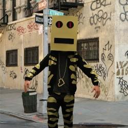 Robotia hlava od ImFao karnevalová