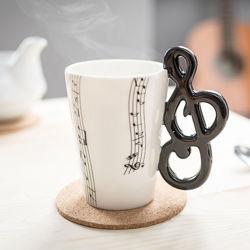 Šálka hudobný kľúč
