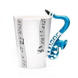 Šálka saxofón