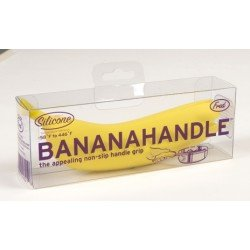 Silikonový držiak do kychyne - Banán
