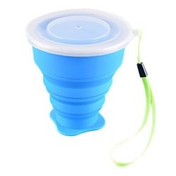 Skladací turistický outdoor pohár