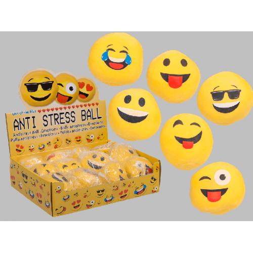 Antistresová loptička smajlík emotikon