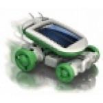 Stavebnica Solárny robot 6v1