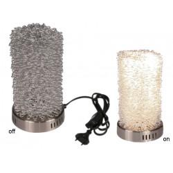 Lampa z kancelárskych spiniek