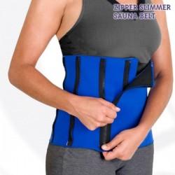Športový Pás Zipper Slimmer Sauna Belt