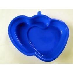 Silikónova srdiečková forma na pečenie